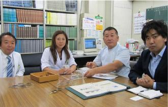 TALEXと金沢医科大学が共同臨床実験