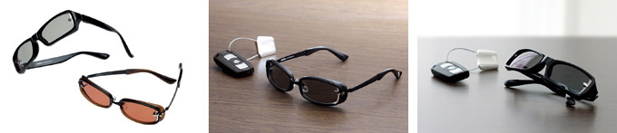 BMW社の開発するサングラス