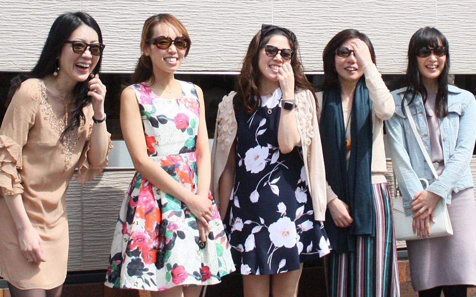 女性が日常で使うサングラス
